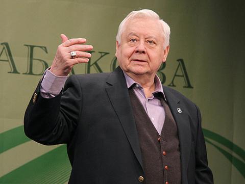 Олег Табаков впервые рассказ…