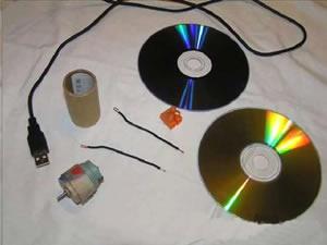 Самодельный вентилятор своими руками из CD дисков
