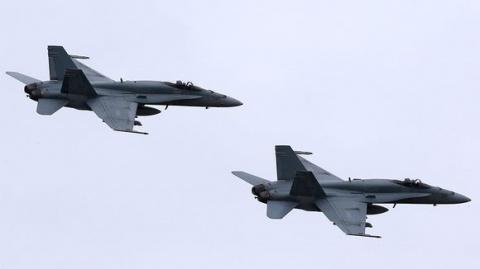 Погнавшись за русскими, истребители НАТО нечаянно вторглись в Финляндию