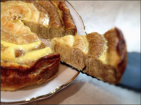 Блинный пирог.