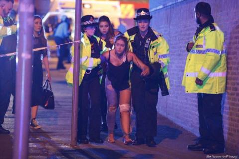 Теракт на стадионе в Манчест…
