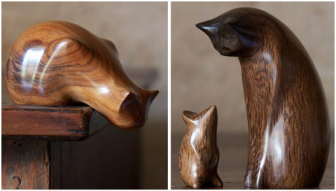 Идеальный минимализм: милые элегантные зверушки