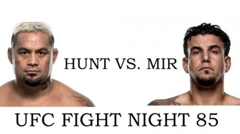 Прогноз на UFC. Марк Хант – Фрэнк Мир
