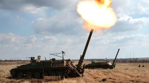 Российская артиллерия наращи…
