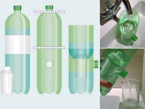 «Вторая жизнь» пластиковых бутылок