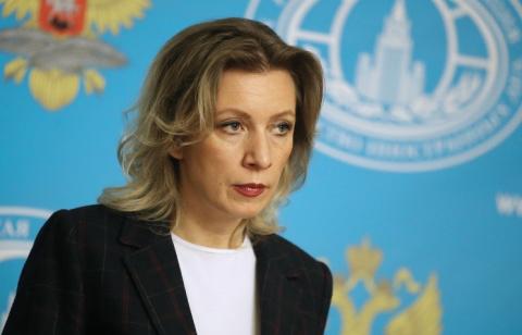 """Захарова прокомментировала выступление украинской певицы на """"Евровидении"""""""