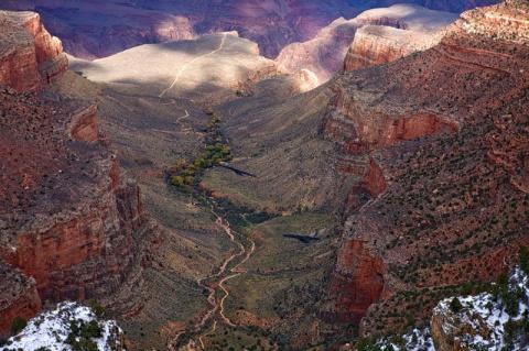 Большой каньон: египетская сокровищница?
