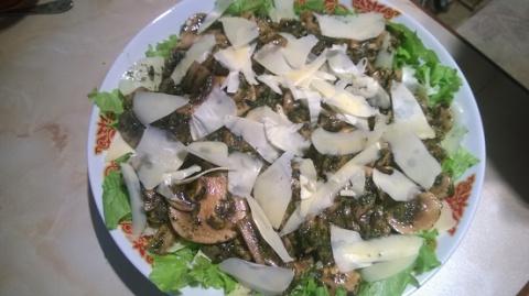 Салат из шампиньонов,почти М…