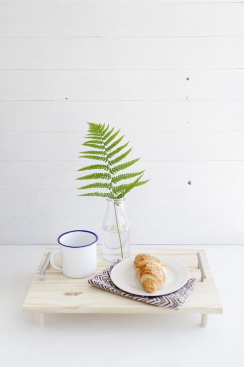 Маленький столик для завтрак…