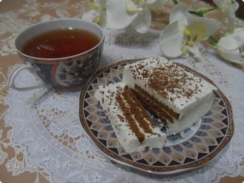 Творожный десерт... легко и быстро без выпечки