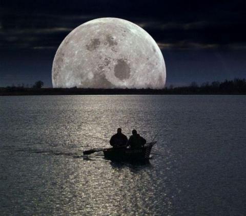 Луна и Рыбалка. Когда клюет?