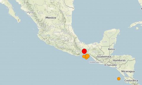 Мексика. Землетрясение магнитудой 6.3