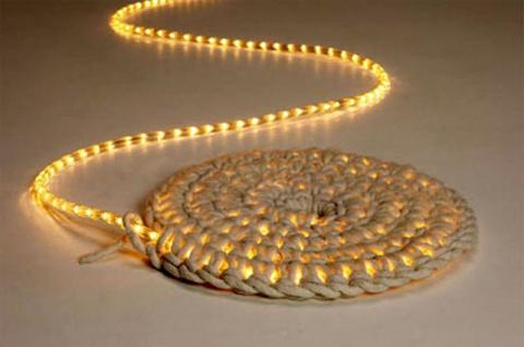 Оригинальная идея - светящийся коврик-ночник
