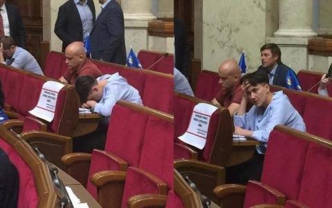 Украинцы ополчились на Савче…
