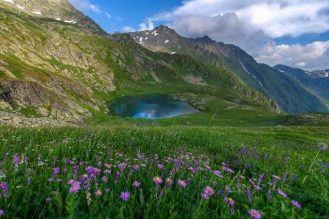 Озеро Григора на красивейшей…