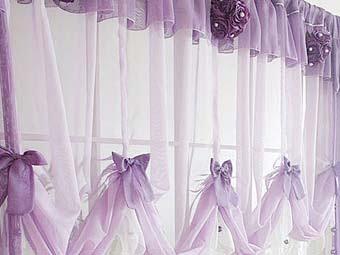 УЮТ. ДЕКОР. КОМФОРТ. Романтичные шторы для вашей кухни