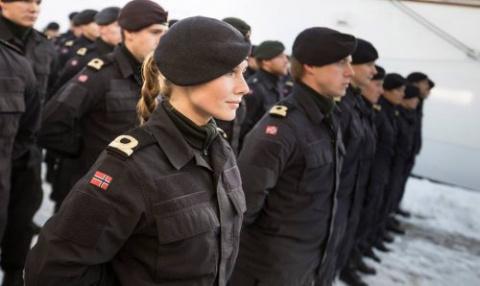 Нововведение в Норвежской армии: мужчины и женщины живут в одной казарме