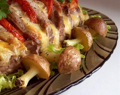 Постные блюда из картофеля