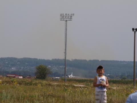 """Праздник """"Я выбираю небо"""" прошедший 9.08.14 на аэродроме """"Борисоглебское"""" (быв. аэродром КАПО им. С.П.Горбунова) в г.Казани."""