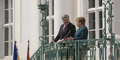 Порошенко уже задрал Меркель…