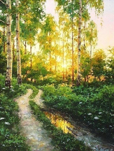 Красота русской деревни в ка…
