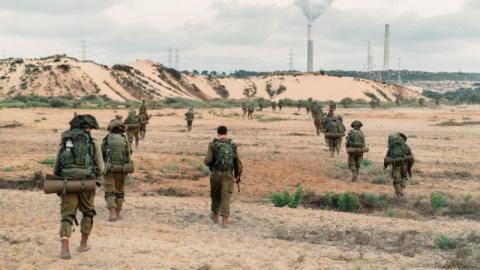 Израильские военные перехват…