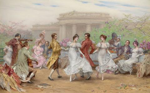 От крестьянского танца к Баху и Генделю
