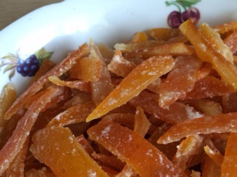 Цукаты из апельсиновых корок…