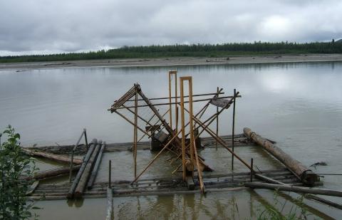 Волшебное колесо для ловли Рыбы!Лосось пойман!