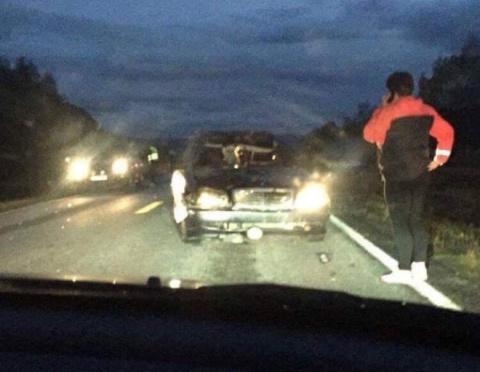 В Норвегии после ДТП внутри пустой машины засняли призрак человека