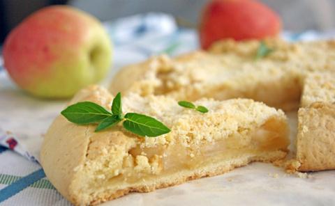 Яблочная галета