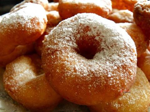 Пончики из советского детства. Пышные, ароматные, воздушные и аппетитные