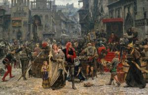 О гигиене в средневековой Ев…