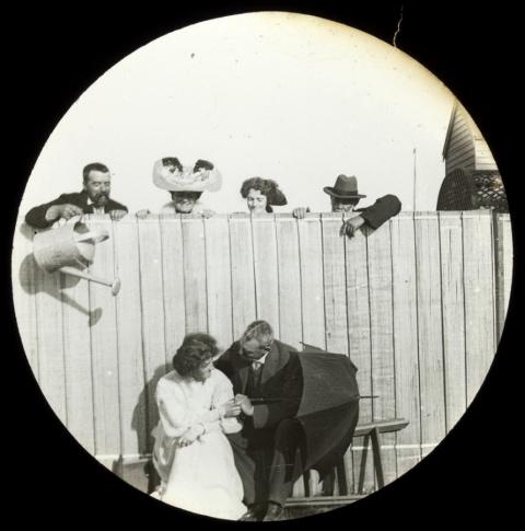 Фотографический юмор из прошлого.