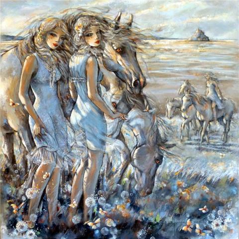 Новые шедевры Jeanne Saint Cheron