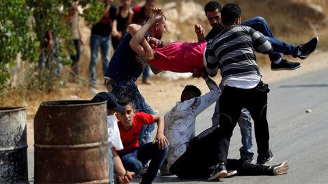 В стычках с израильскими военными погибли двое палестинцев