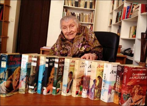 Ушла автор романов об Анжели…