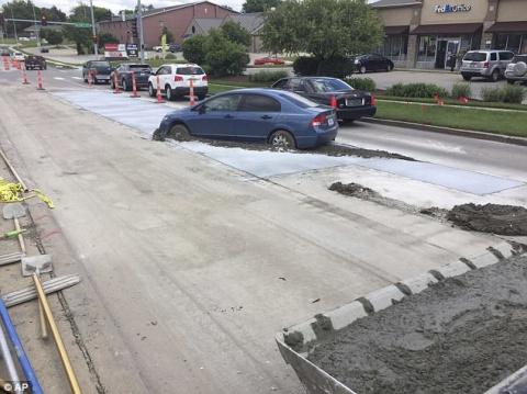 Водитель пытался срезать путь и вляпался по-крупному