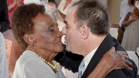 Бразильянка вышла замуж в 106 лет