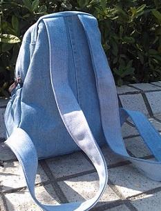 Рюкзак из джинсов. Выкройка и последовательность работ
