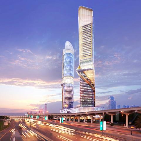 Отель в Дубае с собственным тропическим лесом