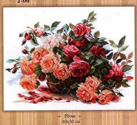 Розы..