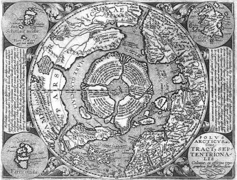 """Теория """"Полой Земли"""" или откуда прилетают НЛО?"""