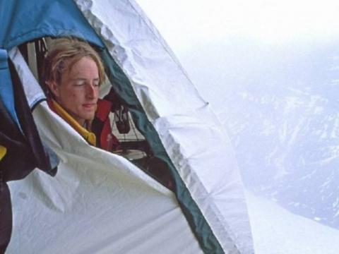 Как ночуют альпинисты (8 фото)