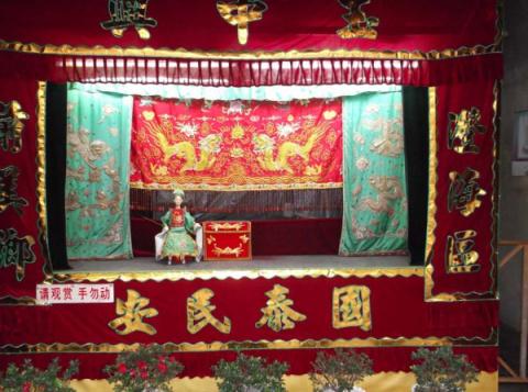 История танца в Китае (театр теней и кукол, часть 2, мини-оперы)