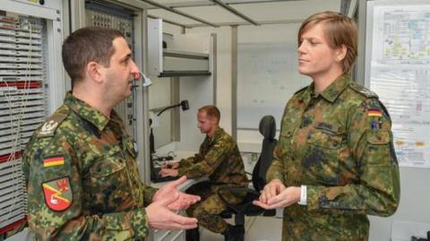 Подполковник Настя: немецкий…