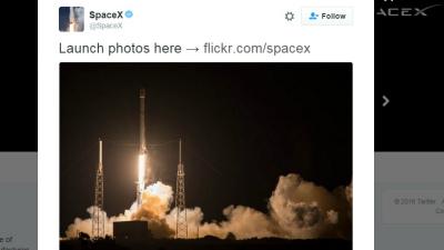 SpaceX посадила нижнюю ступе…