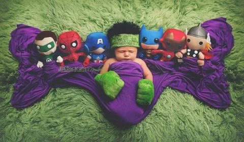 Малыши-супергерои