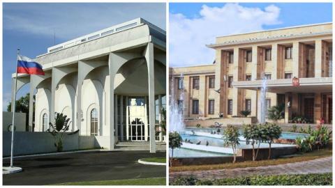 Как выглядит посольство Российской Федерации в разных странах мира
