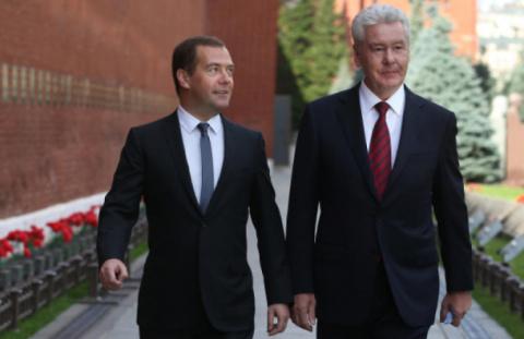 Медведев и Собянин возглавил…
